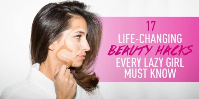 17 LifeChanging Beauty Hacks Every Lazy Girl Must Know #Beauty #Trusper #Tip