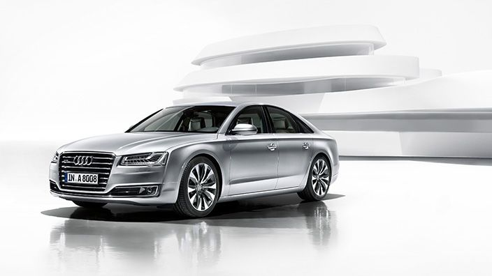 This time Audi have give a wide range of engines in 2015 A8 models that covers option of V6, V8 and W-12 engines as choices. Read more: http://shoutmycar.com/2015-audi-a8-car-review-price-specification/