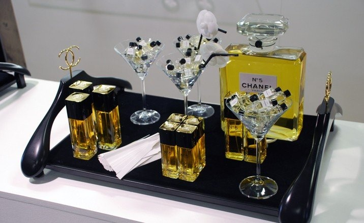 Cool Fragrance display @ Chanel at Dover Street Market