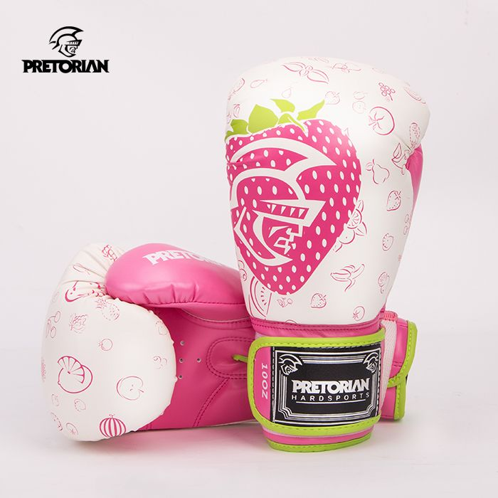 High quality PU Leather Adult male female Boxing Gloves Sparring Punching Bag Muay thai kickboxing Training Fight Gloves