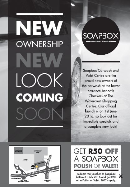 Soapbox | Newspaper Print Advert Design