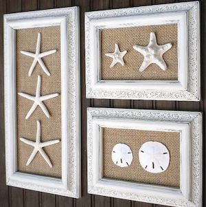 Here is a round up of the best cheap and easy coastal DIY home decor projects on the internet so that you can bring some of the beach to your home. I live in Florida so I am able to find many of the supplies for these DIY projects like shells, sand and wood for … #DIYHomeDecorSummer