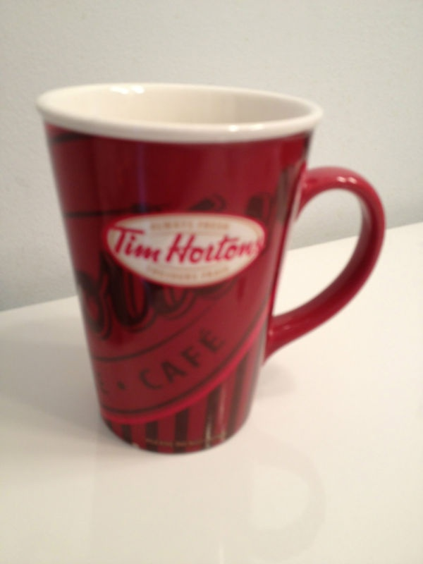 TIM HORTONS, LIMITED MUG, #8, 2008, VGUC, COLLECTORS | eBay