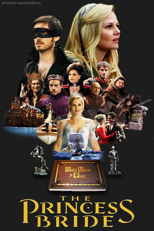 all-mirth-no-matter:  The Princess Bride, Captain Swan AU: As the Enchanted Forest teeters on the verge of war, the reluctant Princess Emma is devastated by the loss of her true love, kidnapped by a mercenary and his henchmen, rescued by a pirate, forced to marry a prince, and rescued once again by the very crew who took her. Foiling their plans and jumping into their story is Killian, Emma's true love and a good friend to a very dangerous pirate. (inspired by)