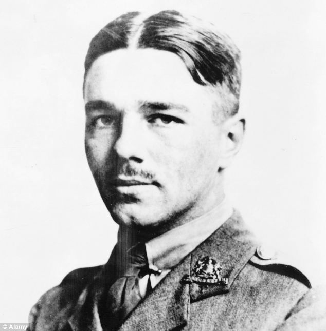 : The poetry of Wilfred Owen, pictured, depicted vividly the horrors of war
