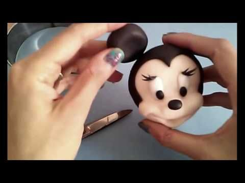 minnie baby en porcelana fria tutorial
