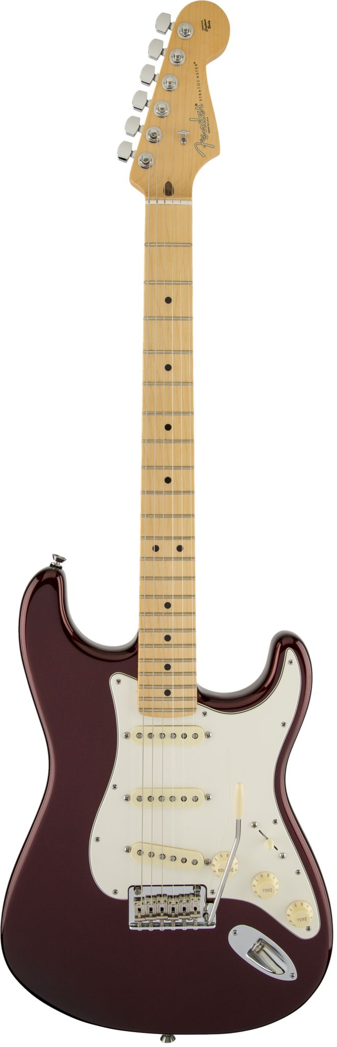 Fender American Standard Stratocaster Electric Guitar Holding true to the classic, the Fender American Standard Stratocaster takes a time honored tradition in electric guitars, and gives it a modern u