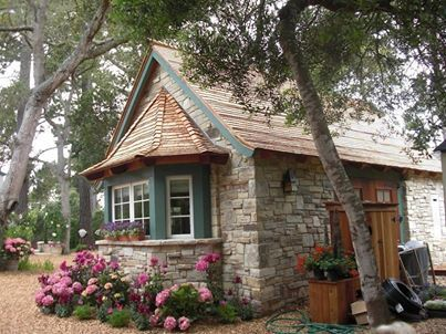 Stone Tiny House, 22 different designs/Lushome