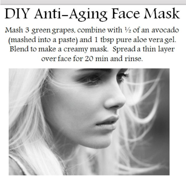 Anti-aging DIY mask! Worth to try!