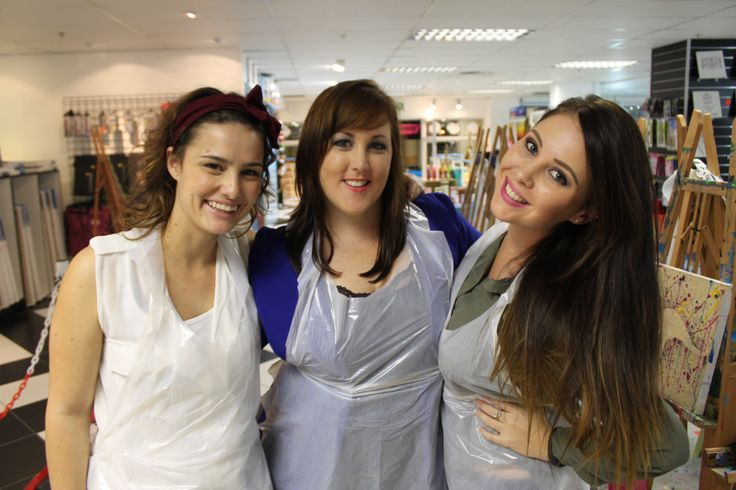 The gorgeous Aussie girls - Kristly, Blythe & Tamryn. — at Art Jamming, V&A Waterfront. #beautysouthafrica #aussieexpression