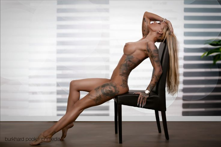 image Girl in body paint has foursome with guys in suits