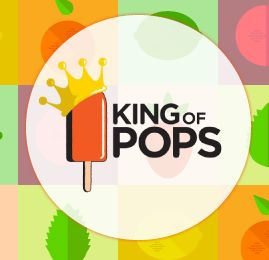 Iconic (everyone knows what a popsicle is) and clean http://atlanta.kingofpops.net/
