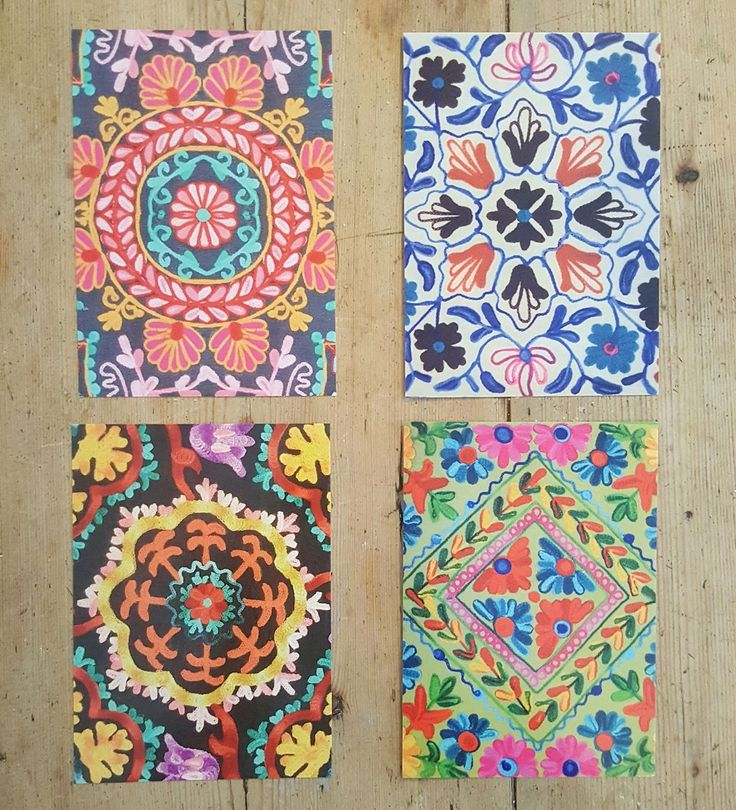 Have you seen our first foray into prints? We've put together a pack of our most popular Indian patterns. At postcard size - you can post them, frame them, pin them, whatever you want! £3 for all 4.