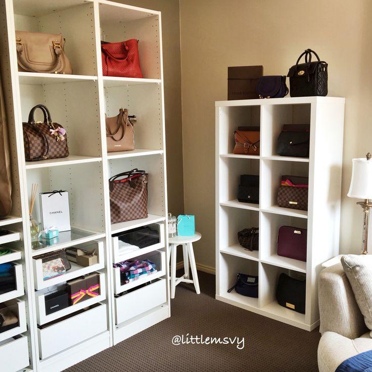 Walk In Shoe And Purse Closet