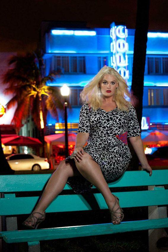 Overlicious Anna Scholtz Whitney Thompson Miami Editorial Plus Size 4