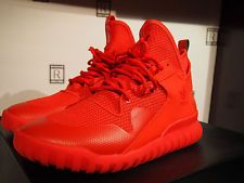 Adidas Tubular X Red October All Triple Red AQ5452 Yeezy Kanye West Men's 10.5