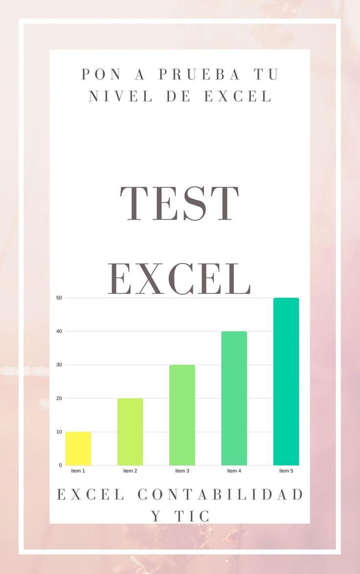 Test Excel con respuestas varios niveles5 (100%) 1 vote Test Excel. Por solo 4,95 euros. Obtendrás una serie de test sobre Excel, en formato .pdf, desde nivel básico a nivel avanzado, con respuestas. Ideal para conocer el nivel de Excel que tienes o para practicar si tienes un examen o prueba para entrevista de trabajo. Además dispones de una