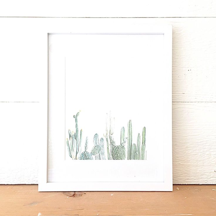 Vertical Cactus Print - cactus painting - cacti - cactus watercolor - home decor painting - southwestern painting - greenery - cacti art by FoxHollowDesignCo on Etsy https://www.etsy.com/listing/240483290/vertical-cactus-print-cactus-painting
