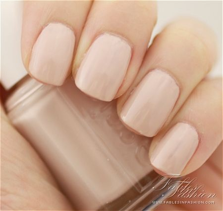 Essie- topless and barefoot because every woman needs the perfect #neutral #nails