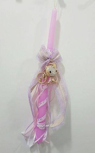 Χειροποίητη λαμπάδα με κορδέλες και hello kitty μπρελοκ  Βρείτε το στο παρακάτω σύνδεσμο http://handmadecollectionqueens.com/χειροποιητη-λαμπαδα-hello-kitty  #handmade #easter #candle #trandition #kid #accessories #storiesforqueens #λαμπαδες #πασχα #παιδικο #αξεσουαρ #χειροποιητο