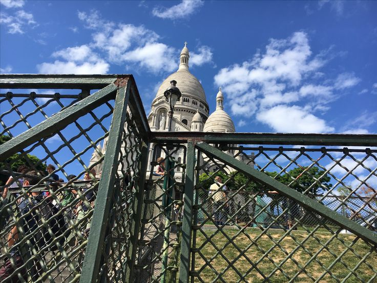 Stop and smell the roses and admire the wire mesh during your next walk through the #historic neighbourhood of Montmartre!   Learn more about you can do with our diverse selection of decorative wire #mesh: https://goo.gl/APnF6T #TravelThursday