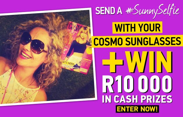 Send a #SunnySelfie and win R10000 in cash prizes | Ends 31 December 2014