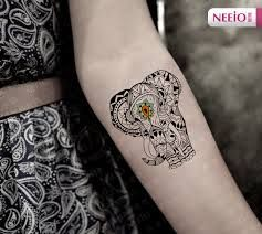 Resultado de imagen de elefante tatuaje