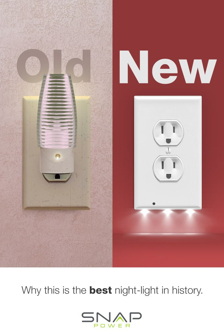 No More Old School Style Nightlights When You Can Have A Modern