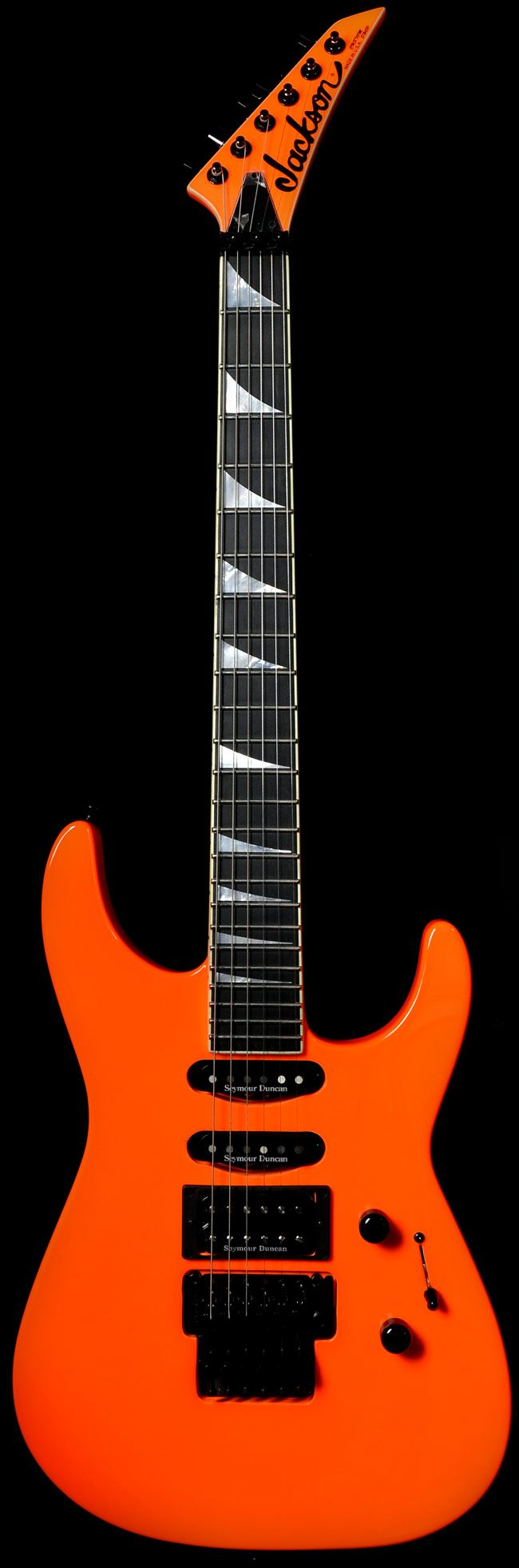 Wild West Guitars : Jackson USA Custom Shop Select SL1 Soloist Neon Orange