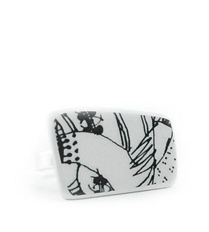 Ring Wiinblad - Ring manufactured from recycled porcelain. #wiinblad #porcelain #jewelry