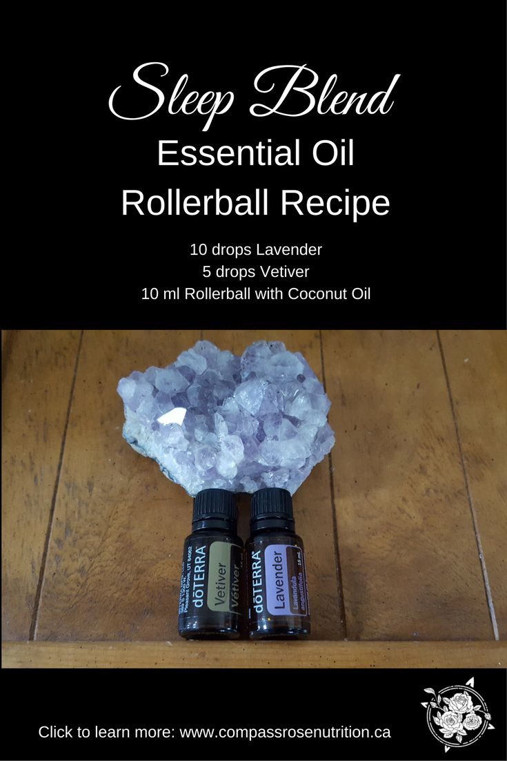 Essential Oils for Better Sleep | Get better sleep with Essential Oils | How to make Rollerball with Essential Oils