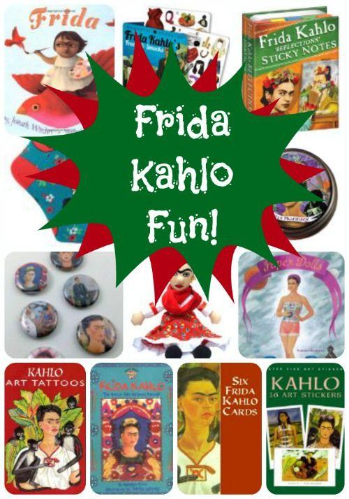 The Art Curator for Kids - Frida Kahlo Fun