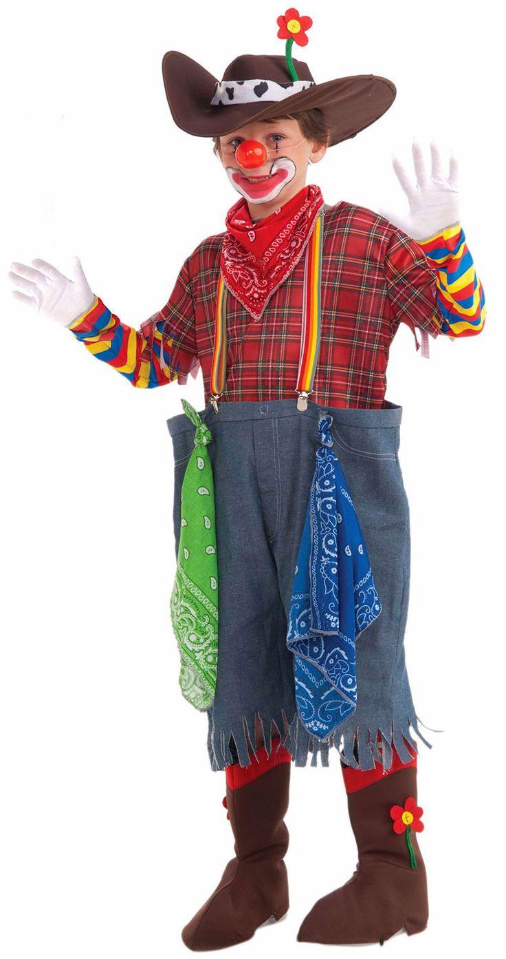 Kids Rodeo Clown Costume Clown Costumes Clown