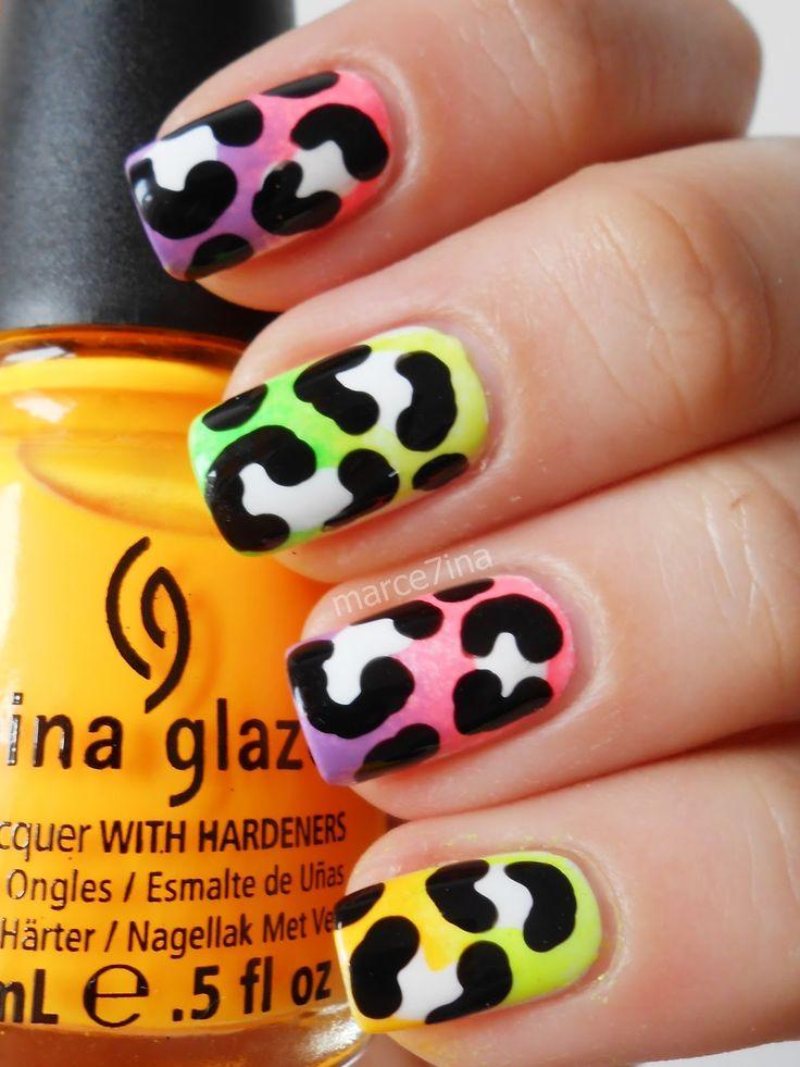 Pin by Cynthia Garcia-Kirby on Nueva nails   Pinterest   Nails, Nail Art and Leopard Nails