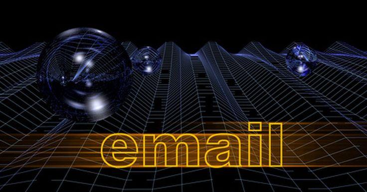Cómo saber si tu dirección de correo electrónico está bloqueada. Los usuarios de correo electrónico pueden bloquear direcciones, lo que significa que no recibirán correos desde ellas. Si tu dirección está bloqueada por un usuario, grupo o sitio, querrás saberlo para poder buscar otra forma de ponerte en contacto con ellos. Existen varias formas de determinar si tu dirección ha sido bloqueada.