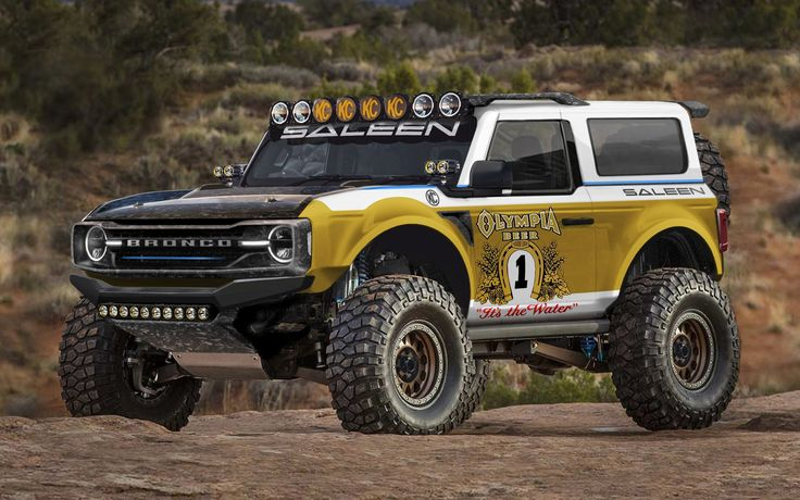 Saleen Big Oly Bronco in 2020 Ford bronco, Bronco, Baja 1000