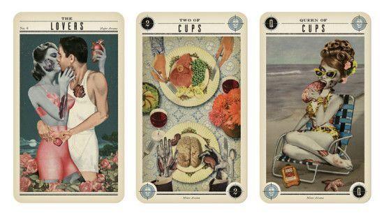 Zombie Tarot Karten - http://www.dravenstales.ch/zombie-tarot-karten/