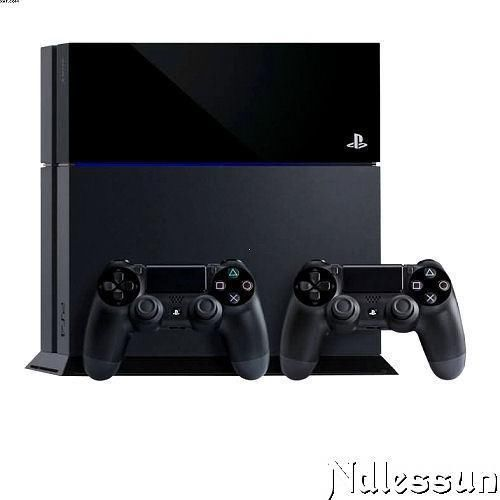 http://www.game-devices.com/sony-playstation-4/ New Sony #PlayStation 4 Black Console 500 GB +2 DUALSHOCK 4 Wireless Controllers $405.00