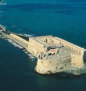heraklion the port