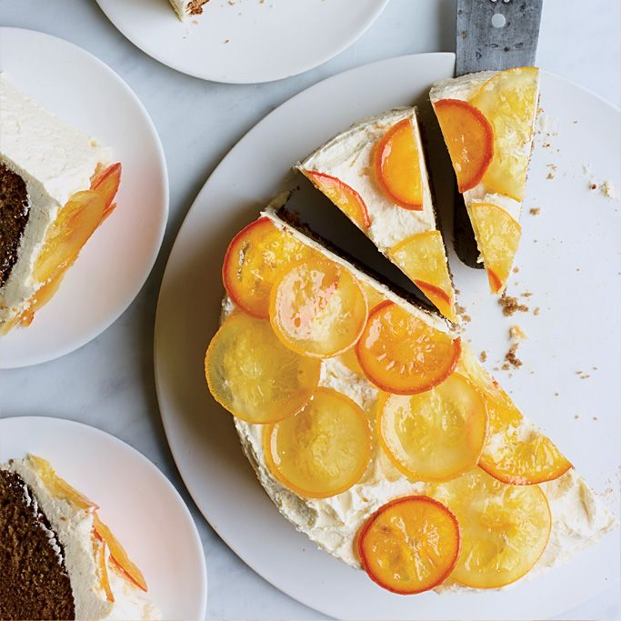Honey Cake with Citrus Frosting | Food & Wine