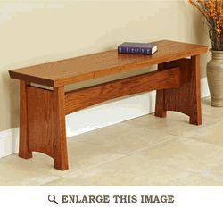 Seating Bench  for one side of the kitchen table