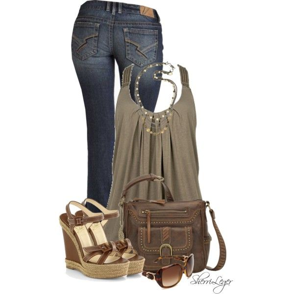 Untitled #860, created by sherri-leger on Polyvore