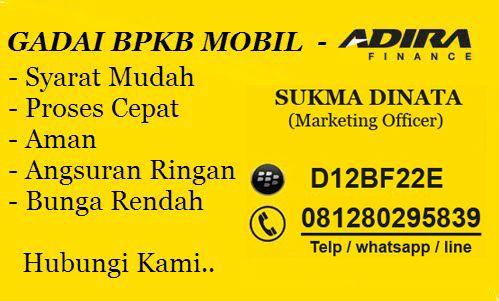 Gadai BPKB Mobil Adira Finance