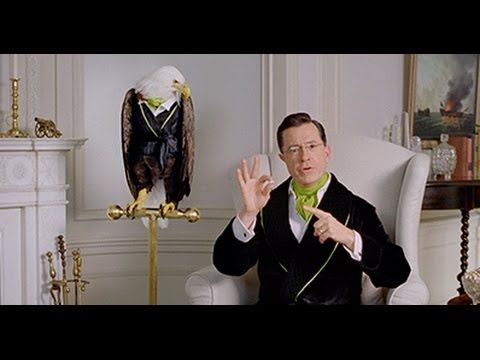 You have to watch it!!!!!! - Stephen Colbert on politics with Wonderful Pistachios Commercial 2014