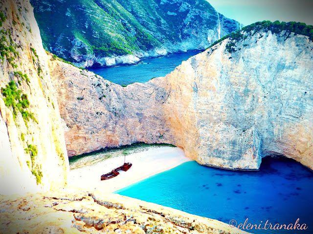 Ελένη Τράνακα: Ναυάγιο Ζάκυνθος, Η θέα απο ψηλά/ Navagio Zakynthos, The view from above
