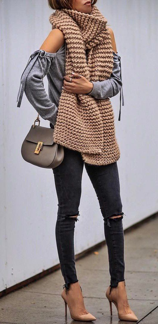 beautiful outfit or how to rock street style with heels