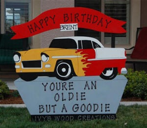 Birthday Sign Rentals for Children and Adults