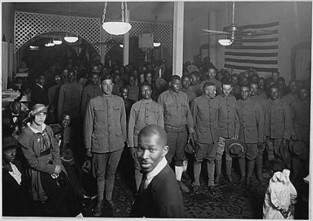 Black soldiers remembered on Armstice Day. On November 8, 1915, Brigadier General Blackden sent off the first Jamaican contingent under the command of Major W. D. Neish to serve in the First World War.