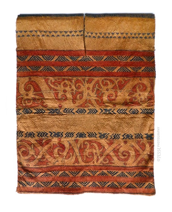 Dayak (tree bark) Tribal Vest, ca.1915 #Indonesia #dayak #tribal