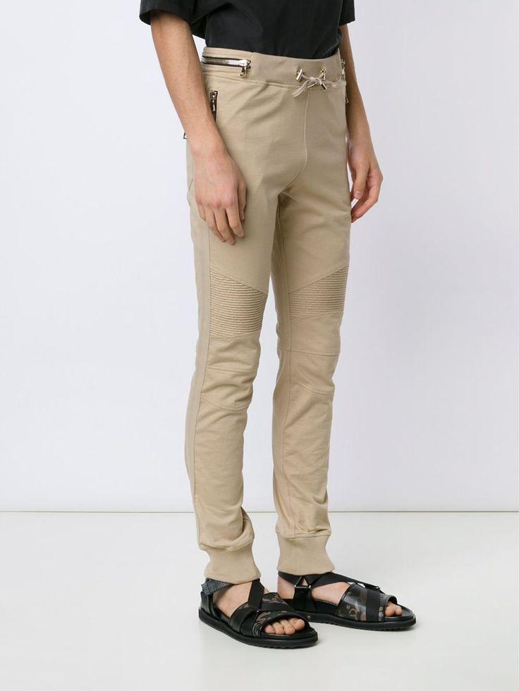 BALMAIN  pantalon de jogging zippé 723,63 €